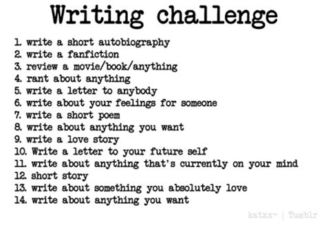 A Written Challenge by Writing Challenge