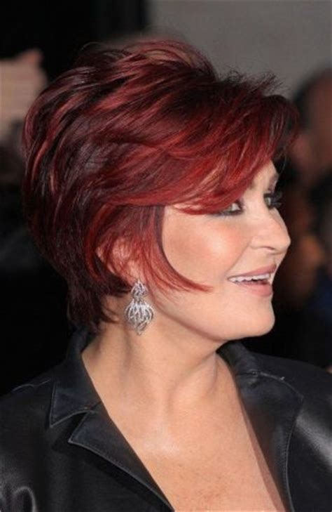 sharon osbourne hairstyles sharon osbourne mature hairstyle short hairstyles
