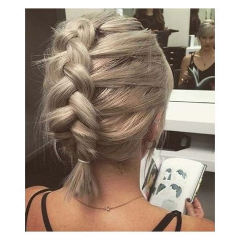 french braided bob 25 best ideas about braided short hair on pinterest