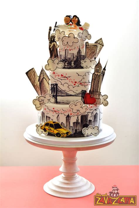 New Wedding Cake by New York Wedding Cake Cake By Nasa Mala Zavrzlama
