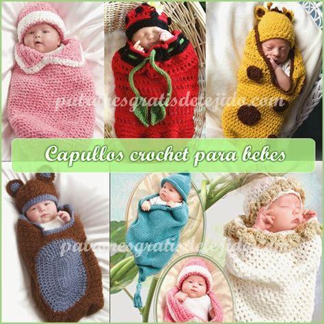 porta fan bebe tejido al crochet capullo o cocoon y gorro para beb 233 s crochet y dos agujas