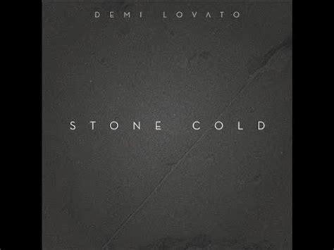 stone cold by demi lovato karaoke demi lovato stone cold 1 key male karaoke youtube