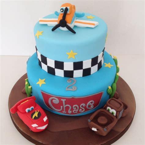planes amp cars birthday cake