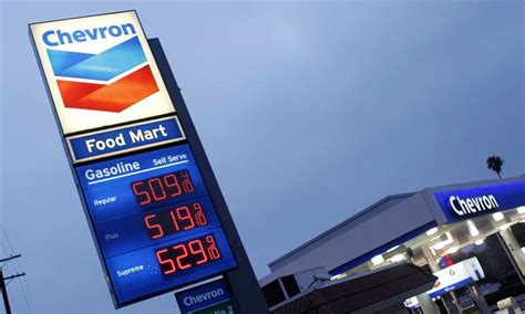 Forte Chevron chevron profits en forte hausse