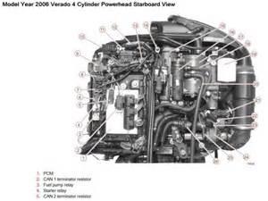 mercury verado 4 stroke 135 150 175 outboard factory shop service manual cd rom factory repair