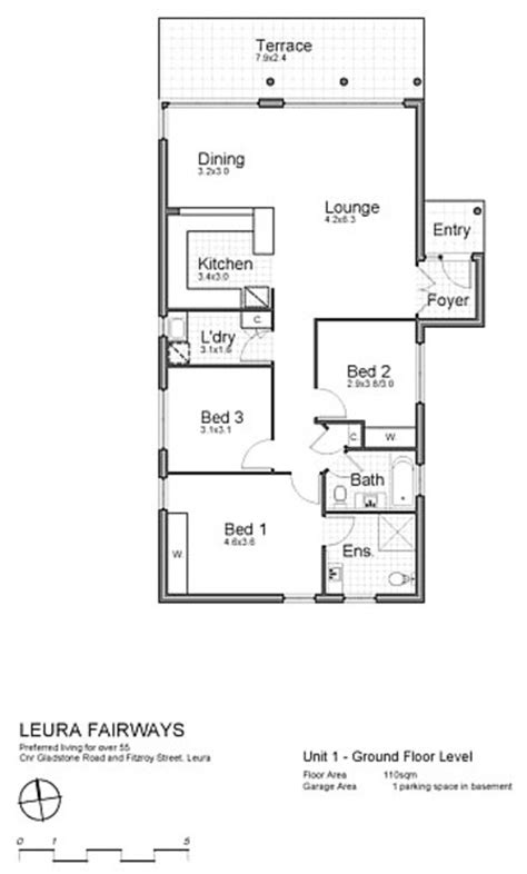 3 bedroom unit floor plans leura fairways floor plans self contained 3 bedroom villas