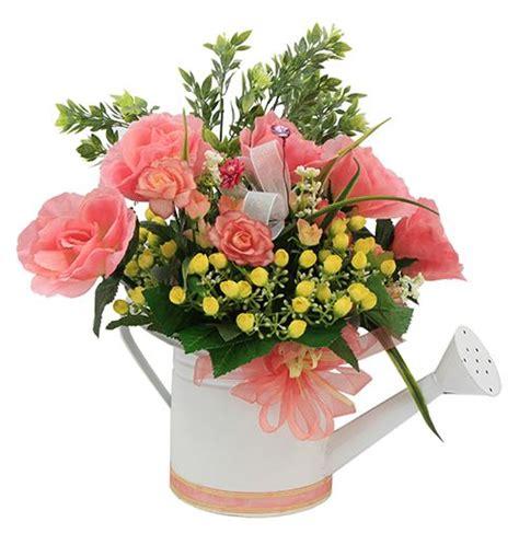 arreglos de flores para jardines manualidades para centro de mesa en color coral y blanco d 237 a