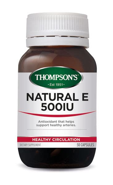 Healthy Care Vitamin E 500iu buy thompsons vitamin e 500iu capsules 50 at