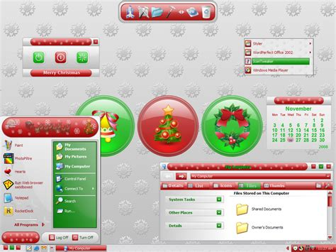 christmas themes for win xp christmas theme for win xp