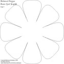 flower cut out template flower cut out template