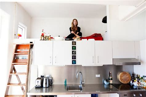 studio kitchen ideas for small spaces catalogued compact living in sydney every bit count