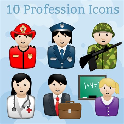 Profession Icons - Game Art Guppy