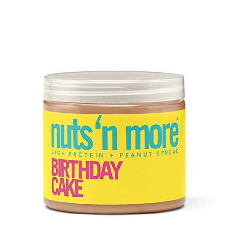 protein n more nuts n more high protein birthday cake peanut butter 16