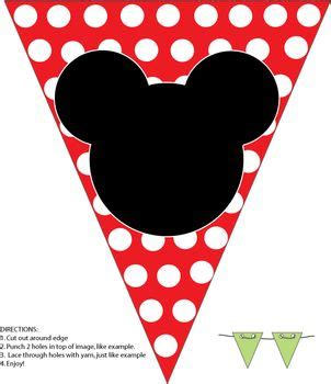 Bunting Flag Mickey Mouse the world s catalog of ideas