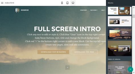Drag And Drop Web Editor Editor Website Template