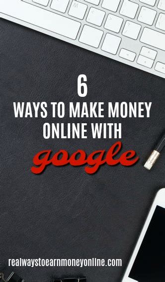 How Make Money Online With Google - make money online with google directly and indirectly