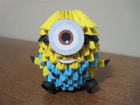 Best 3d Origami - 32 best s 3d origami images on minion