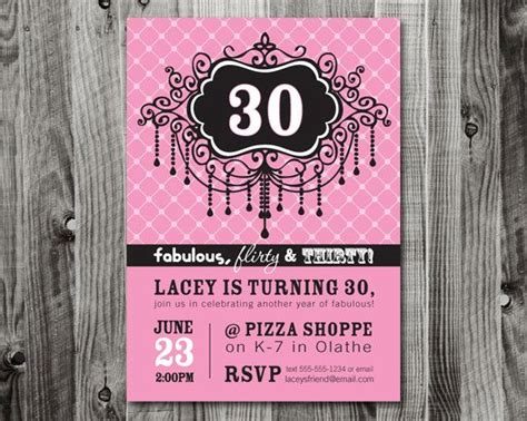 30th invite template 17 best images about invitation ideas for 30th birthday