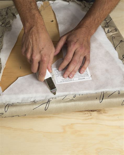 How To Remove Upholstery Staples by Upholster A Chair Upholstering Staple Guns Arrow Fastener
