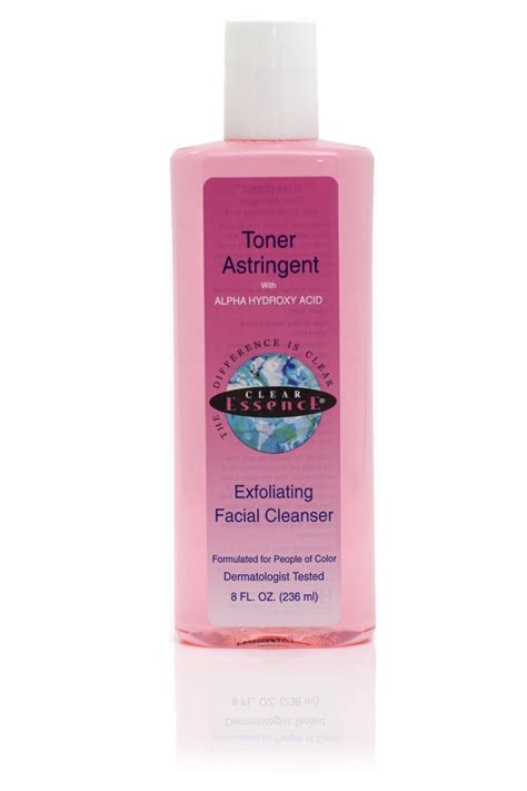 Toner Astringent clear essence anti aging toner astringent w alpha hydroxy