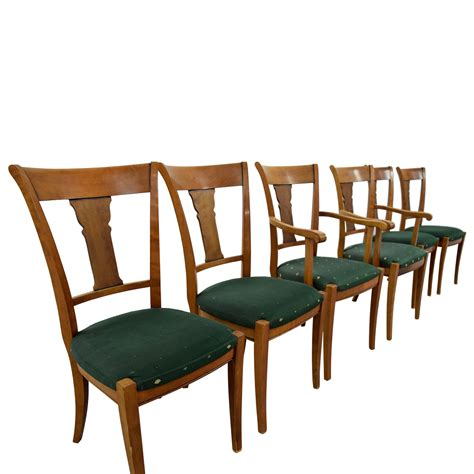 green upholstered dining chairs 90 grange grange rochambeau green upholstered