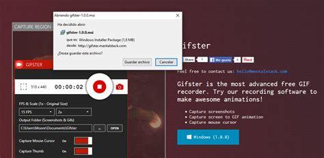 grabar escritorio gifster c 243 mo grabar la pantalla en gif neoteo