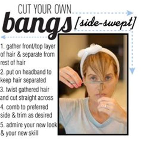 how to cut your own hair 5 hot tips 1000 ideas about cut your own hair on pinterest hair in