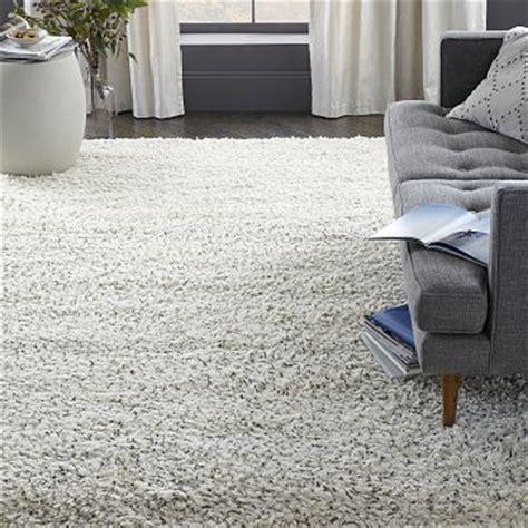 steven alan speckled shag wool rug westelm bedroom rug