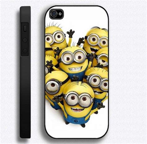 Minion Despicable Me For Iphone 5 5s Tipe B Limited despicable me minions iphone 5 cover 7th design bestiphone5caseshop accessories on