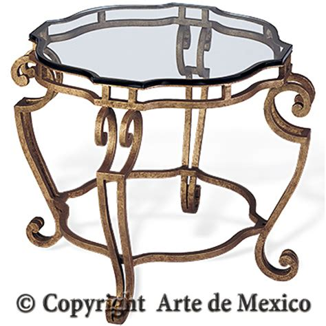 Arte De Mexico Furniture by Ai045 3 Wrought Iron Accent Table Page