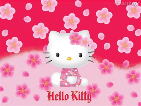 wallpaper hello kitty terbagus hello kitty free wallpapers wallpaper cave