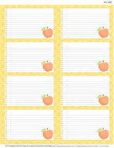 Notebook Label Template by Free Printable Multi Use Labels For School Teachers