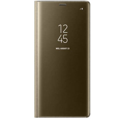 Clear View Standing Samsung Note 8 husa clear view standing pentru samsung galaxy note 8