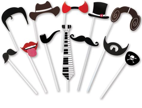 printable photo booth props on a stick 4funparties com photo booth props on a stick
