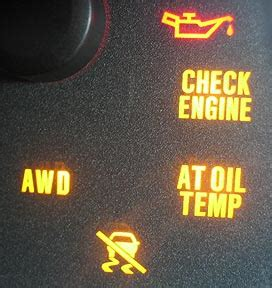 Subaru Warning Lights Cruise Check Engine Impreza Xv Forum Non Turbo Subaru