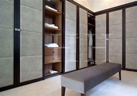 upholstered wardrobe sliding doors central seating