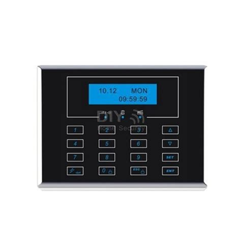 wireless touch keypad keyboard with lcd screen for