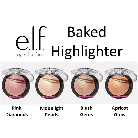 E L F Studio Baked Highlighter baked highlighter