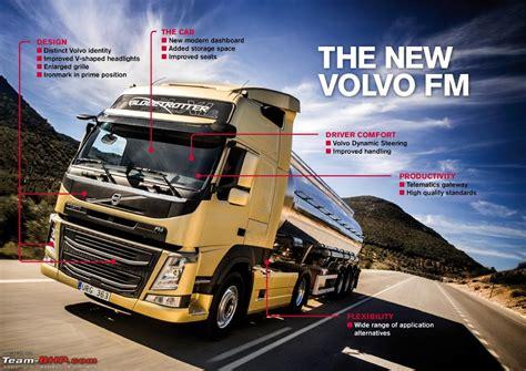 new volvo truck range volvo trucks reving the entire range team bhp
