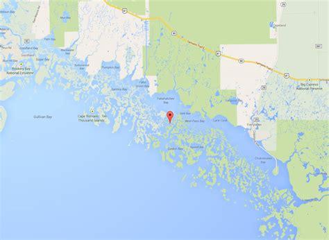 map of ten thousand islands florida 10 000 islands tarpon nolaguides