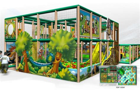 cheer amusement jungle themed children indoor softplay