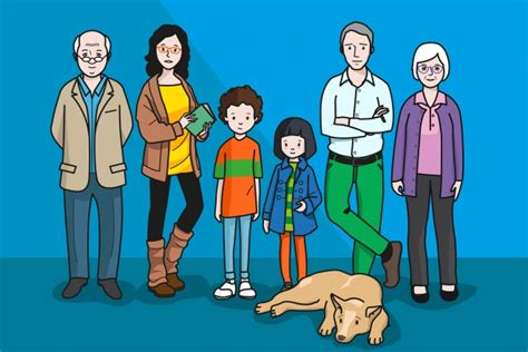 imagenes de la familia en ingles para niños 98 ideas dibujo de familia compuesta on