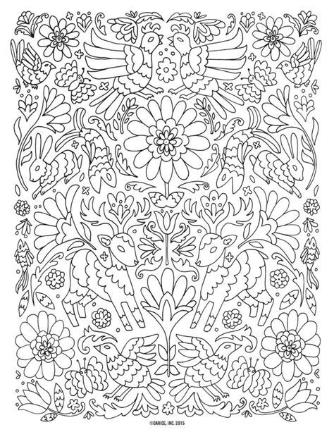 Coloring Pages Adult Design On Pinterest