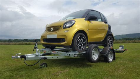 towing smart car 91 smart car trailers smart fortwo trailers small car