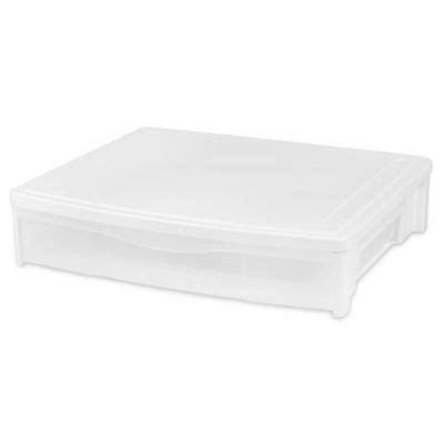 Bed Plastic Drawers by Buy Plastic Stacking Drawer From Bed Bath Beyond