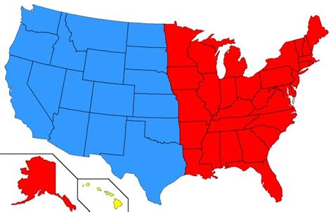 us map divided south east west news of the future second civil war ends in 2017 humor