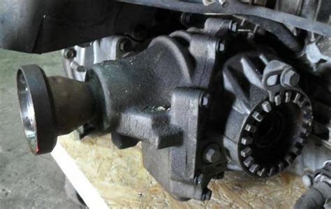 volvo  sr angle gear transfer case    oem wotransmission ebay