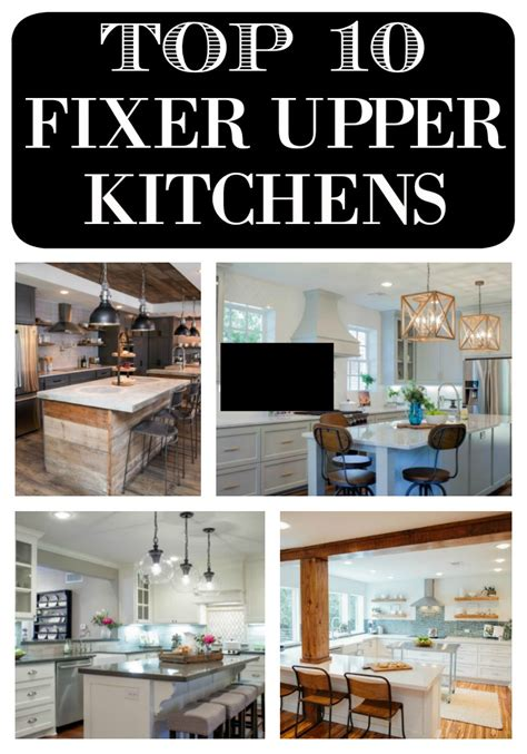 fixer upper facebook top 10 fixer upper kitchens daily dose of style