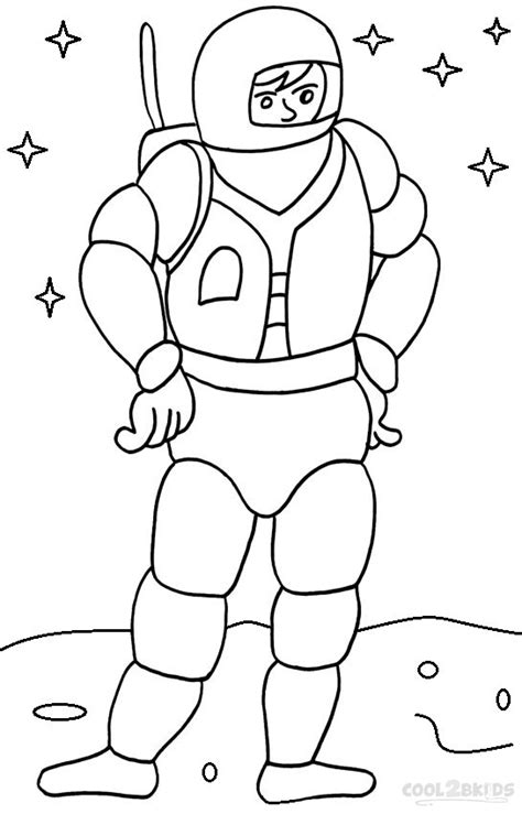 Astronauts To Print And Color Pics About Space Astronaut Coloring Pages