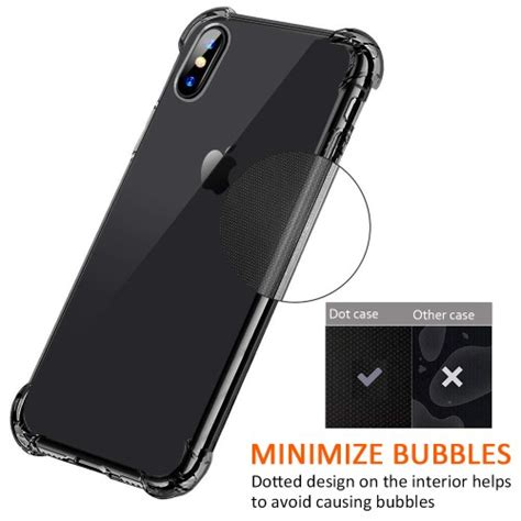 Bovon Coque Iphone by Bovon Coque Pour Iphone Xs Max Ultra Mince Cristal Limpide 201 Tui De Protection Absorption De